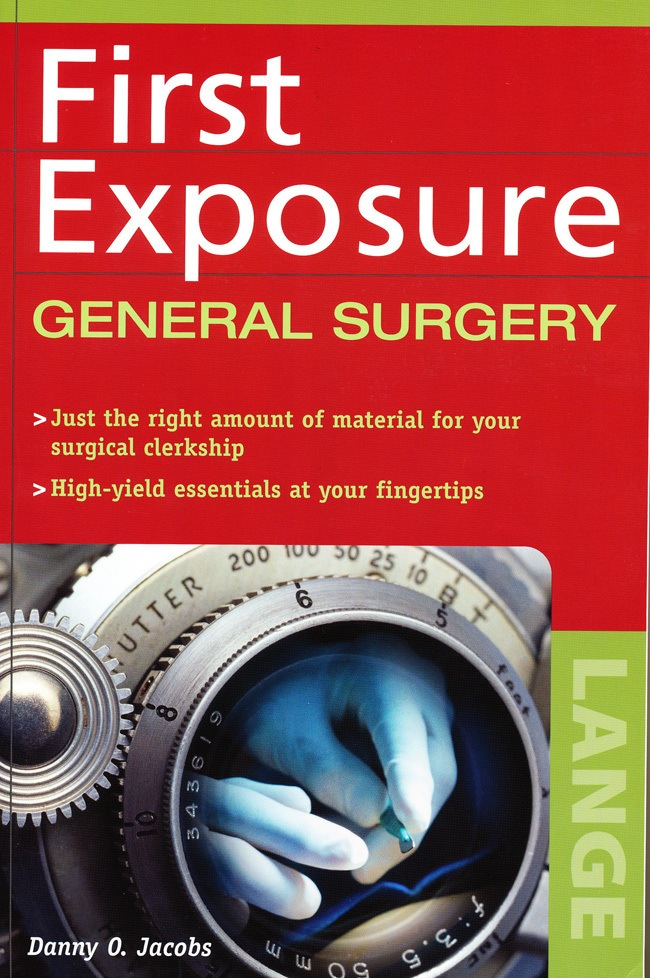 First Exposure General Surgery Book Cover Page