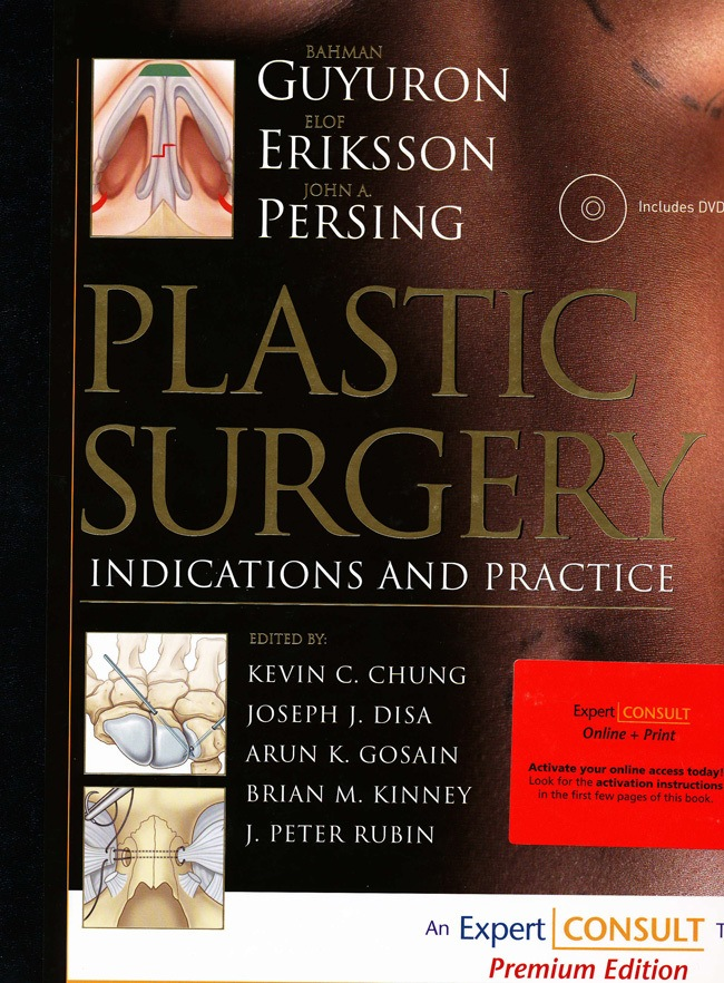 Cover Page to Plastic Surgery Indications and Practice Book